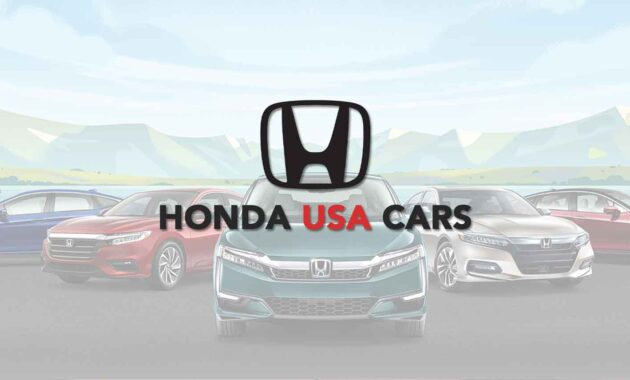 Honda USA Cars